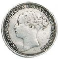 Victoria Young Head Silver Sixpence 1838-1887